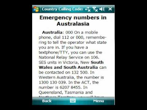 Country calling codes fin