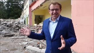 KULTSchule in Berlin Lichtenberg Bauarbeiten - Kommentar Walter Gauks