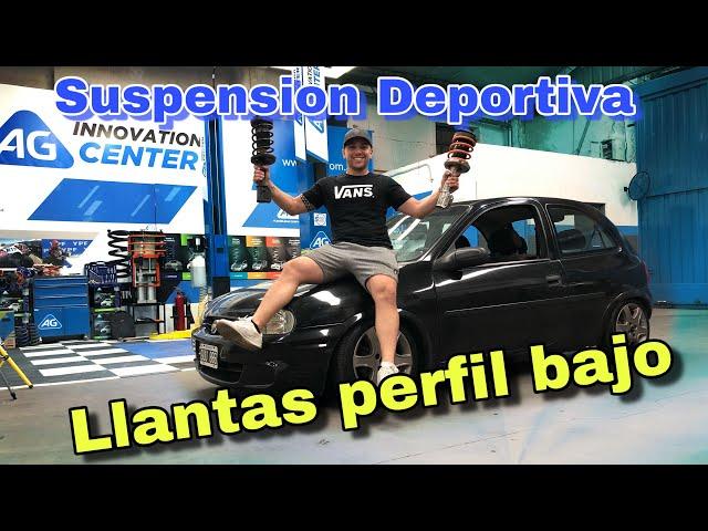 Suspension FIJA VS REGULABLE - Cual elegi para el CORSA?! / Mark Demian