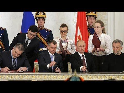 Crimea: firmato al Cremlino accordo per unificazione a Russia