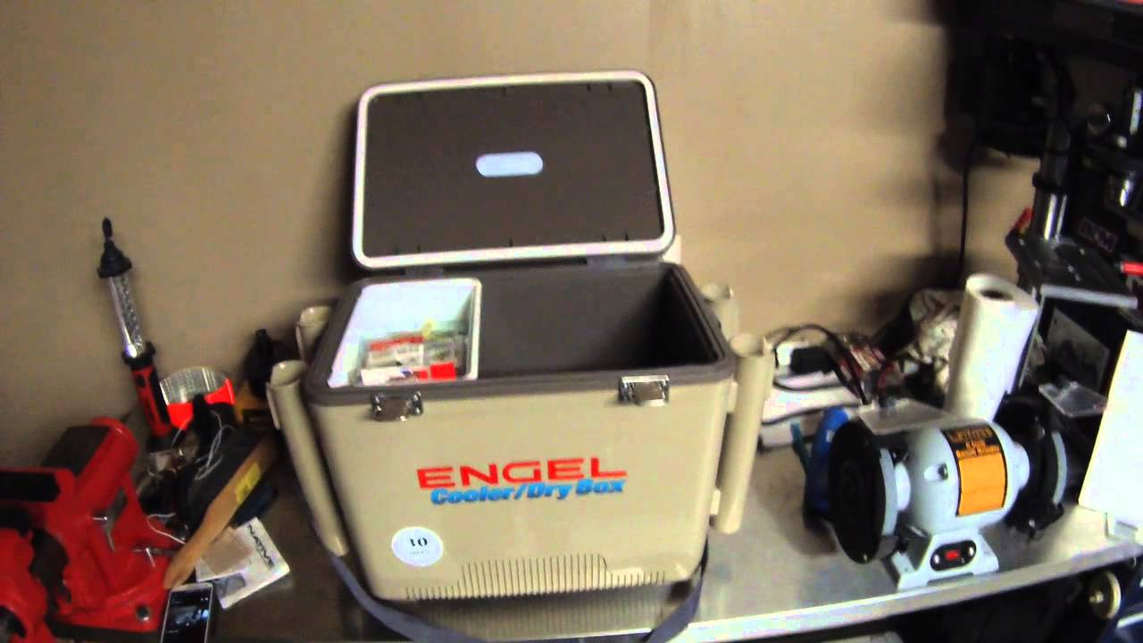 Best kayak fishing cooler engel uc 30rh review youtube for Kayak fish cooler