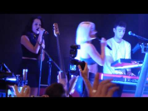 Clean Bandit in Moscow Vogue Fashion's Night Out (Live in Tsvetnoy 3 September 2015)
