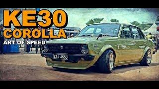 Download Sabah Corolla KE30 4 Doors Black TOP 20 Valve - Art of Speed 2019