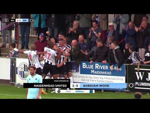 2017-09-16   Maidenhead United v Boreham Wood   Highlights