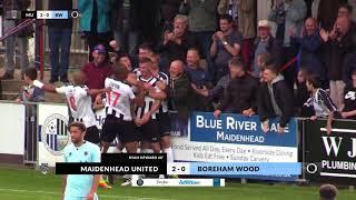 2017-09-16 | Maidenhead United v Boreham Wood | Highlights