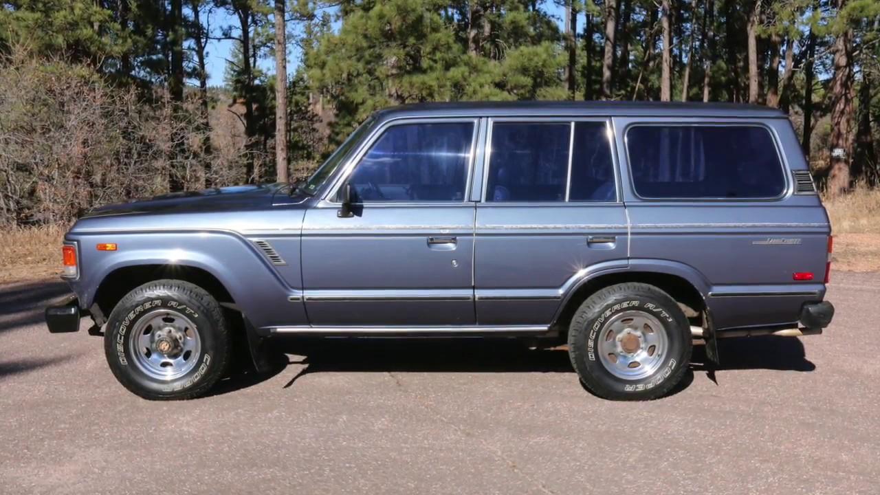 For Sale   1985 Toyota Land Cruiser FJ60   1 Owner, All Original