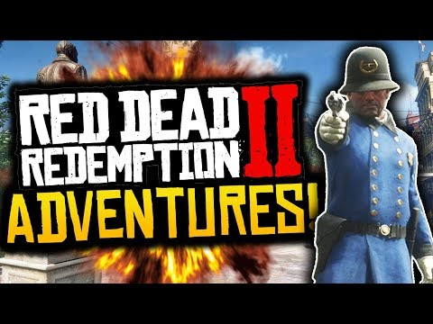 "Red Dead Redemption 2: Funny Moments! - #2 - ""TROUBLE IN SAINT DENIS!"" - (RDR2 Adventures)"