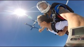 I jumped out of a plane.