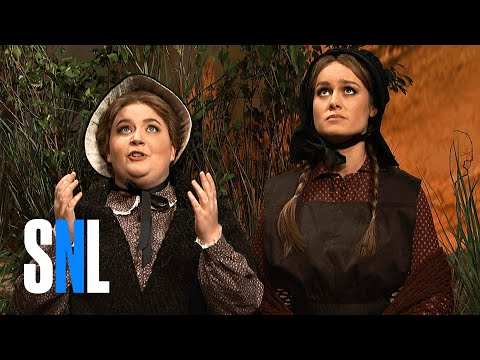 Thumbnail: Cut for Time: Oregon Trail (Brie Larson) - SNL