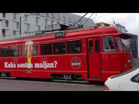 Unusual Trams of Helsinki