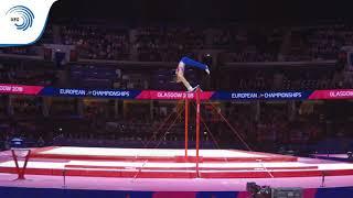 David BELYAVSKIY (RUS) - 2018 Artistic Gymnastics Europeans, qualification high bar