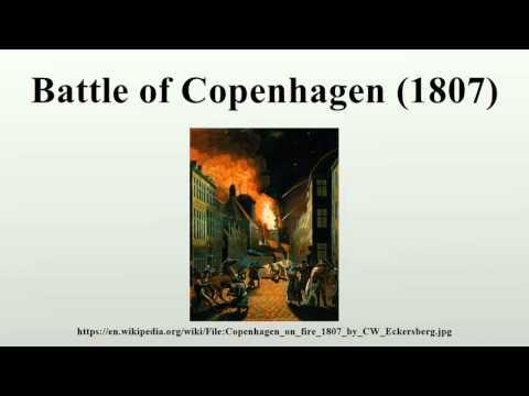 Battle of Copenhagen (1807)