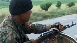 Киргизия, г. Ош - зачистка