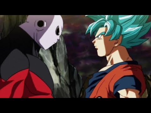 Dragon Ball Super - SSJB Goku vs Jiren 4K HD