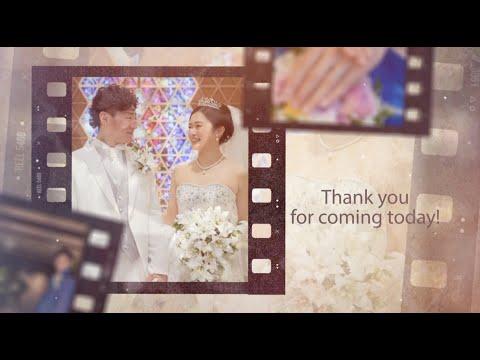 おしゃれな結婚式プロフィールムービーを作成します フィルム風インスタ風WEB風など6種類からお選びください☆