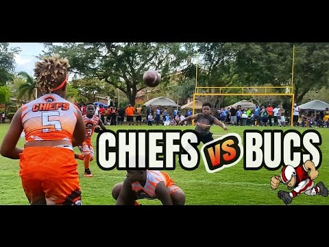 Miami Gardens Chiefs vs Washington Park | Strong Arm 7v7 |  Bucs 7v7  (11u)