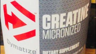 Dymatize Creatine Micronized Review