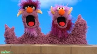"Sesame Street: The Two-Headed Monster - ""Who Has More Milk?"""