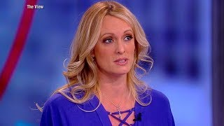 Stormy Daniels speaks out on Trump, shows sketch of man she says threatened her