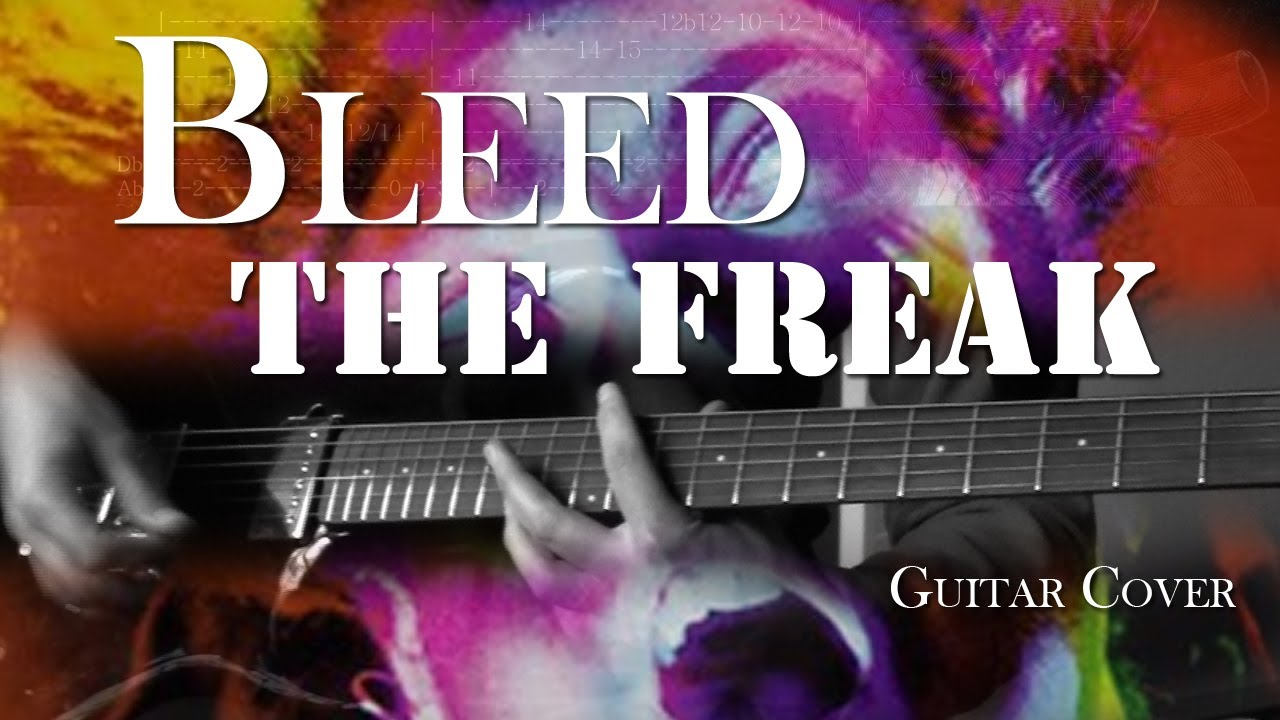 Bleed The Freak Alice In Chains Guitar Cover With Solo And