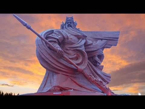 Revealing the God of War Statue - Guan Yu Statue Completed in China