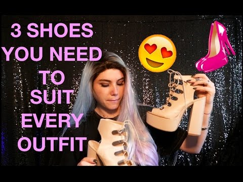HOW TO: SHOES   3 Versatile Heels