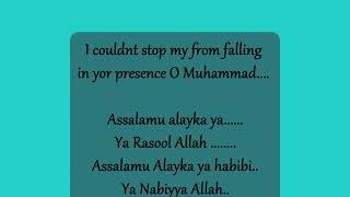 Lyric shalawat Assalamualayka (English Version) by Maher Zain..