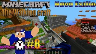 #8 Minecraft : Server de Modpack= The Walking Craft ou (The Crafting Dead) *Pirata e Original*