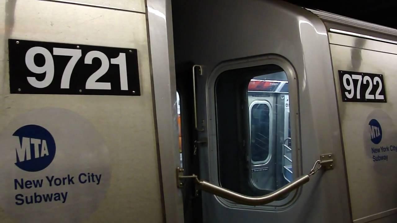 Coney Island Bound R160A F Train 9713-9722 @ Van Wyck Blvd ...