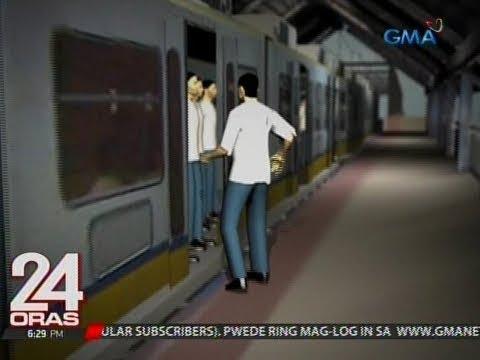 24 Oras: Lalaking naipit sa pinto ng LRT at nakaladkad pa ang mukha, nasa ICU