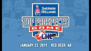 CHL/NHL Top Prospects Game 2019 - Team Cherry vs. Team Orr