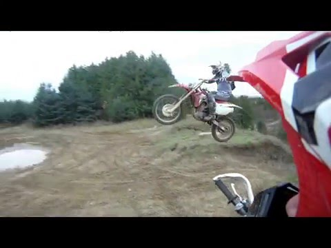 Dirt Bike Fun CRF  Newtonville Toronto ont