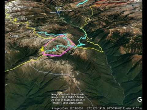 Himalayan Border Dispute: Doklam Plateau