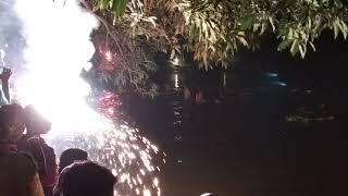 Jamgram Nandy Bari Durga Puja Bisarjan 2018 || জামগ্রাম নন্দী বাড়ির দুর্গা পূজা বিসর্জন 2018