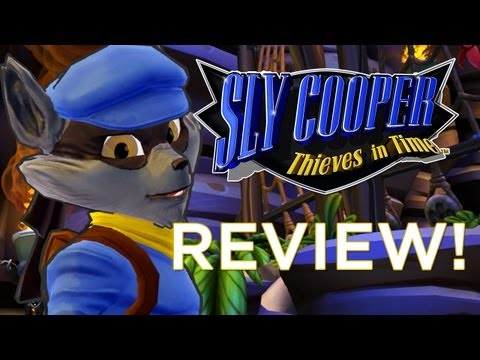 Sly Cooper: Thieves in Time REVIEW! Adam Sessler Reviews