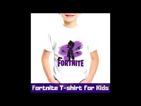 Kids Fortnite T Shirt | Ultimate Battle Royale Apparel