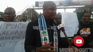 ABIA POLY STRIKE, ASUP CHAIRMAN SPEAKS ON CONDITIONS TO SUSPEND STRIKE