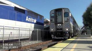 HD-Amtraks and a Metrolink in SoCal: 7/17/11