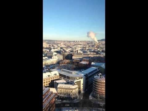 Oslo time-lapse from the window