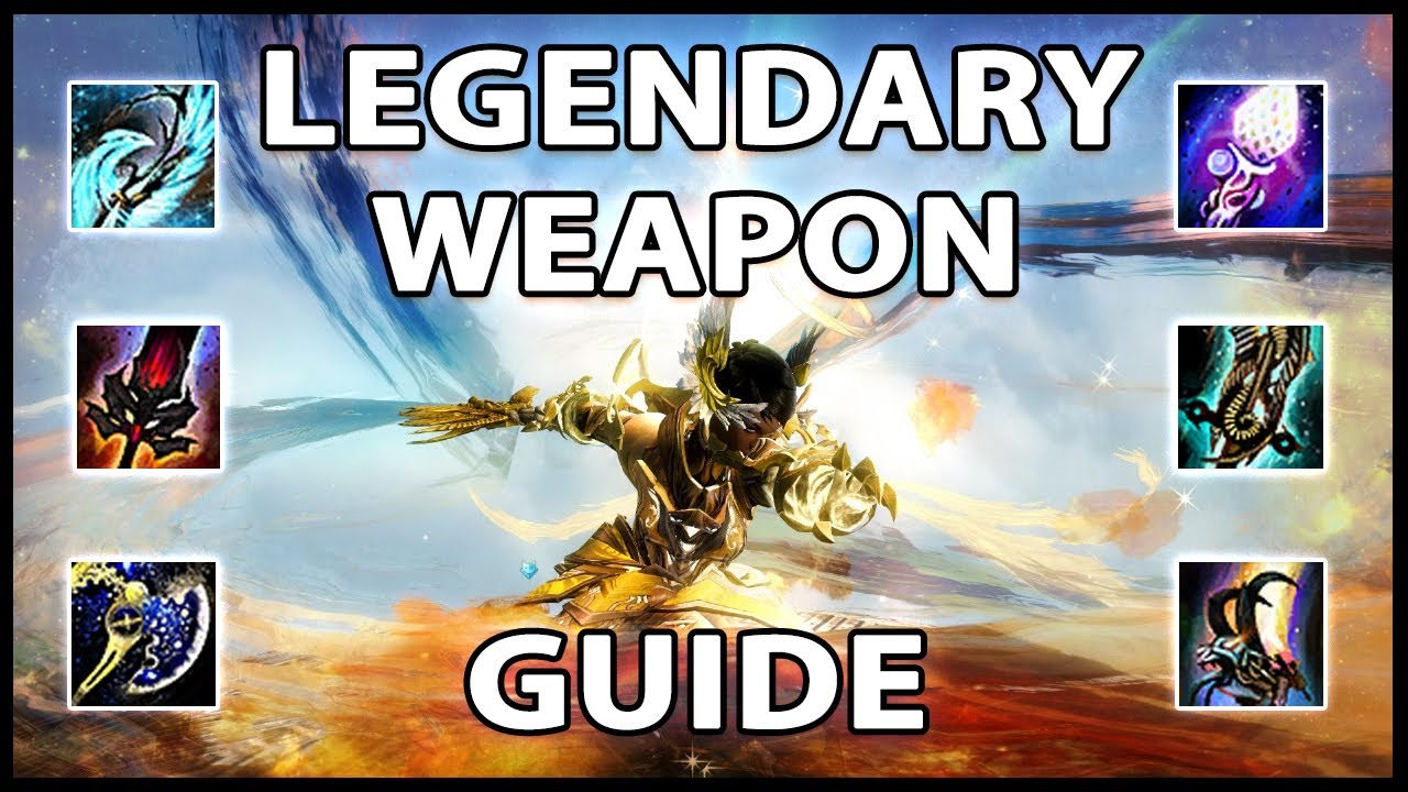 Easy Legendary Weapon Guide 2020   Guild Wars 2 thumbnail