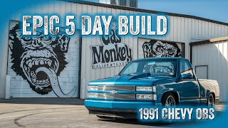 Epic 5 Day OBS Build - GAS MONKEY GARAGE