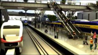 California High Speed Rail - Anaheim Regional Transportation Intermodal Center (ARTIC)