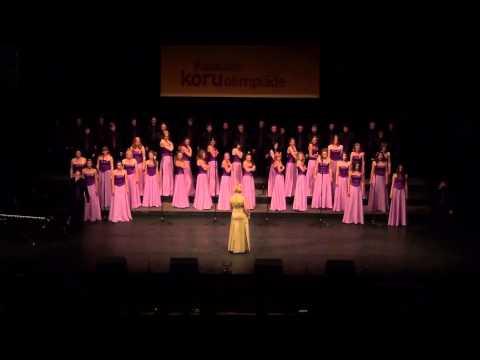 NNSU Choir - Supermassive Black Hole (World Choir Games Riga 2014 - Popular Choral Music)