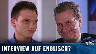 """""""Was wird aus dem Brexit, Herr Oettinger?"""" – Fragen von Fabian Köster"""