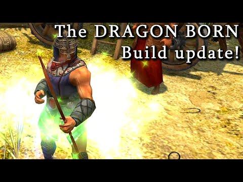 Titan Quest Atlantis  The DRAGON BORN Build update!  