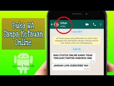 2 Ways to Hide Online Alerts In Whatsapp