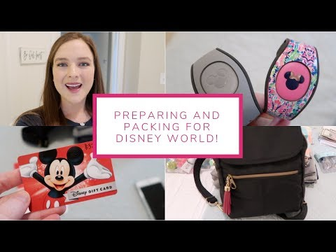 Preparing And Packing For Disney World! | January 23-26, 2019