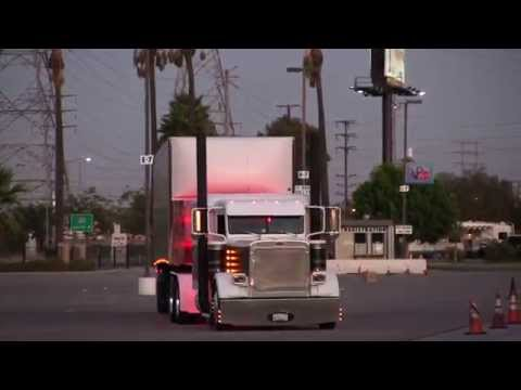 The Beautiful Show Trucks Leaving Truckin' For Kids 2014  Part 3