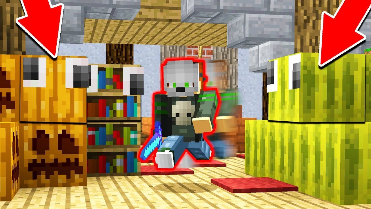 The Most Intense Hide Seek Game Ever Minecraft Trolling