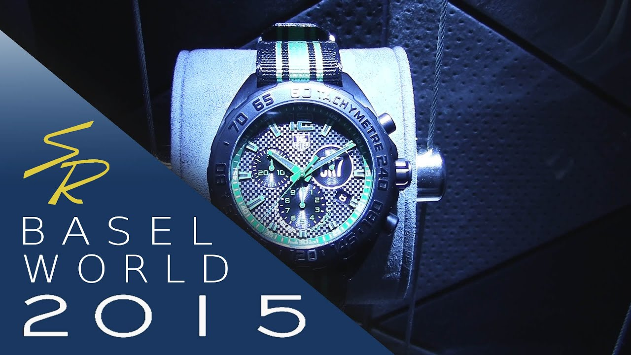 Tag heuer cristiano ronaldo baselworld 2015 youtube for Cristiano ronaldo tag heuer